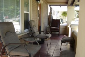The Porch on Fern Street San Diego Sober Living for Men - The Front Deck